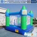 Barato Mini Castelo inflável Saltando Casa do Salto Inflável Bouncer Com Ventilador