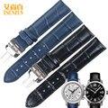 Высокое Качество Ремешок Для Часов Tissot T055 Для PRC200/T055410A/417/430 Черный Синий Часы Полосы Ремень Браслеты ремешки для наручных часов Корреа Ro