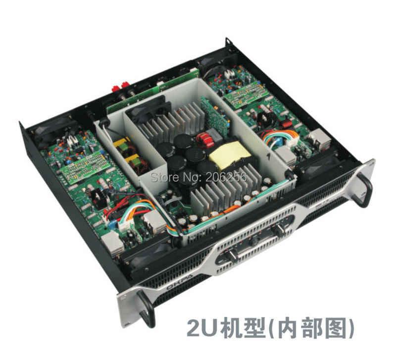 Профессиональный Мощность усилитель okpa dql7.0 переключатель Мощность усилитель Мощность полный Профессиональный Усилитель 2*1000 Вт Мощность ful трансформатор