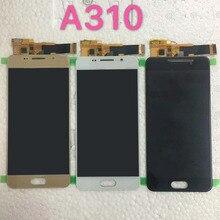 Dành Cho Samsung Galaxy Samsung Galaxy A3 2016 A310 A310F A310H A310M Màn Hình Hiển Thị LCD Bộ Số Hóa Hình Cảm Ứng Có Điều Khiển Độ Sáng Điều Chỉnh