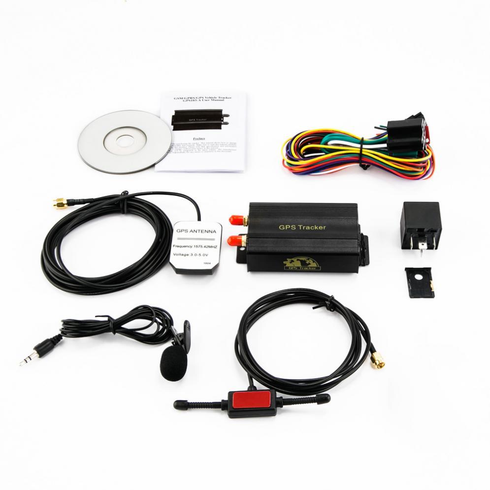 Localisateur de traqueur de GPS de voiture SMS/GSM/GPRS alarme de g-clôture dispositif de suivi de localisation en temps réel de traqueur pour la moto de voiture