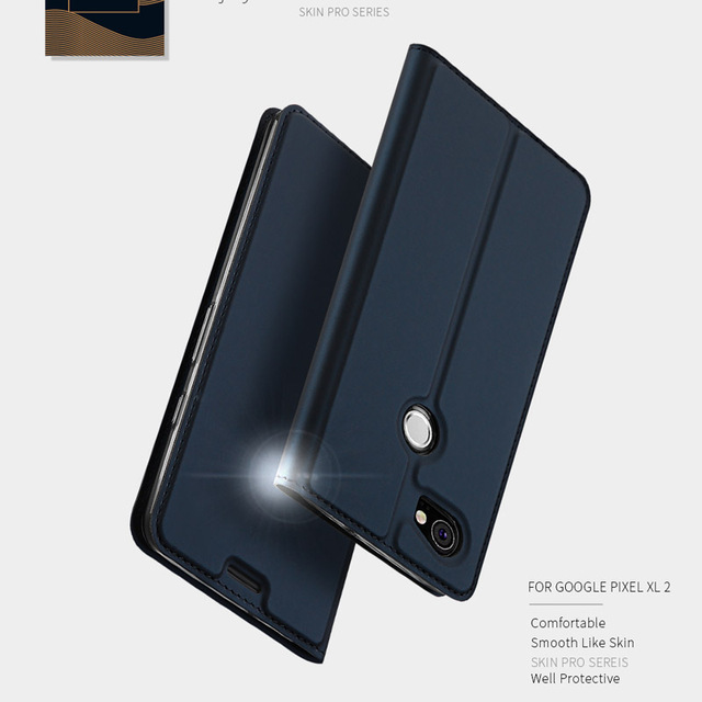 big sale b0755 e926b US $12.0  Fashion Flip Window Card Slot Design Luxury PU Leather Case Cover  for Google Pixel 2 Google Pixel 2 XL for iPhone for Samsung-in Flip Cases  ...