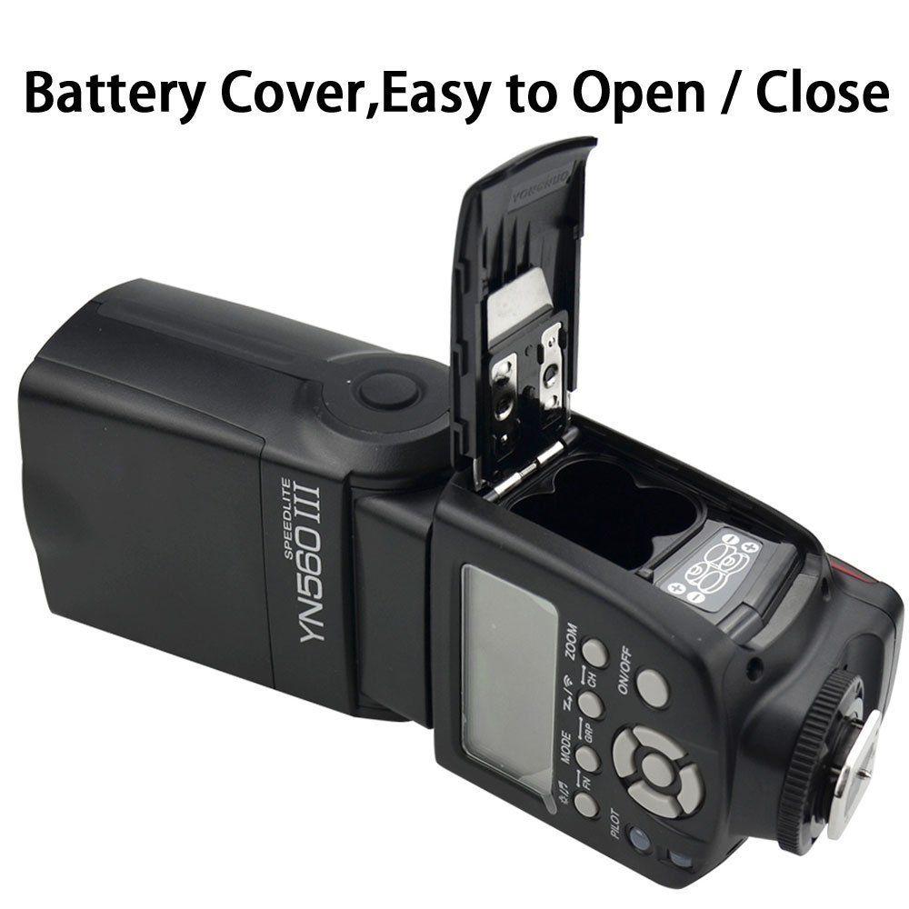 YONGNUO YN560 III YN-560 III YN560III Sans Fil Flash Speedlite Flash Pour Canon Nikon D3200 D3100 D5300 D7200 DSLR Caméra - 5