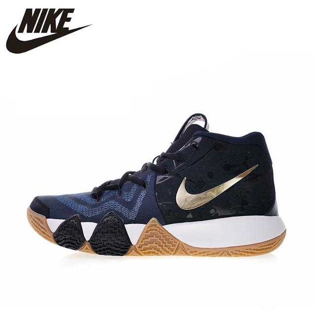 Original auténtico Nike Kyrie 2 EP Irving 4th Generación de Baloncesto de los hombres Zapatos de deporte al aire libre zapatillas de deporte 2018 nueva llegada 943807
