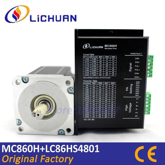 Nm cnc motorsteuerung LC86HS4801 nema34 schrittmotor drive kit 2 ...