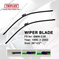 Wiper Blade Fits For BMW 5 Series E39 1995 2003 1 Set 26 22 Flat Aero