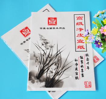 35 arkuszy paczka chiński ryż biały papier do malowania chiński obraz kaligrafii cienkie przezroczyste papier praktyka papier ryżowy tanie i dobre opinie Malarstwo papier TAI YI HONG VD-BP-00125 Chińskie malarstwo 35 sheet pack 25 5*36 5 cm half- cooked White