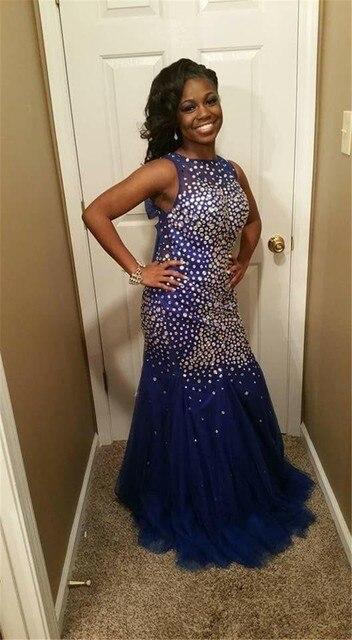 Mermaid Tulle Prom Dress