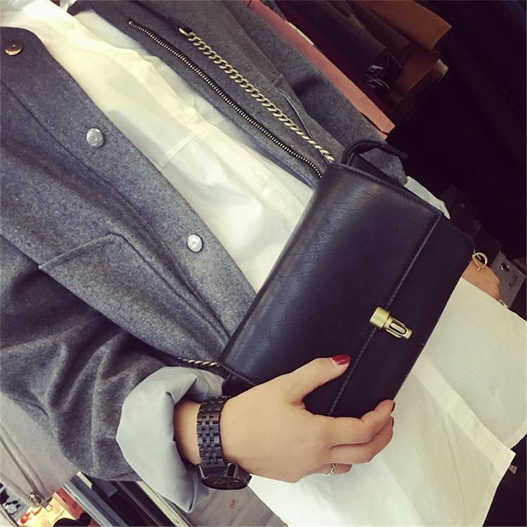2015 New Fashion Women Bag Leahter Handbags Small Messenger Bolsa Feminina Crossbody Shoulder Bags  Bolsos Famous Brands Lady 010