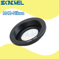 M42 Nikon M42 Lens To Nikon DSLR SLR Camera F Mount Adapter Ring With Glass Infinity