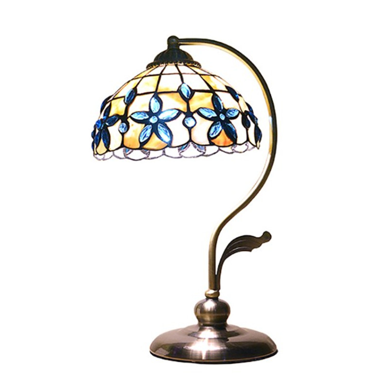 Sea Lamps: Modern Metal Body Shell Cover Table Lamp Mediterranean Sea