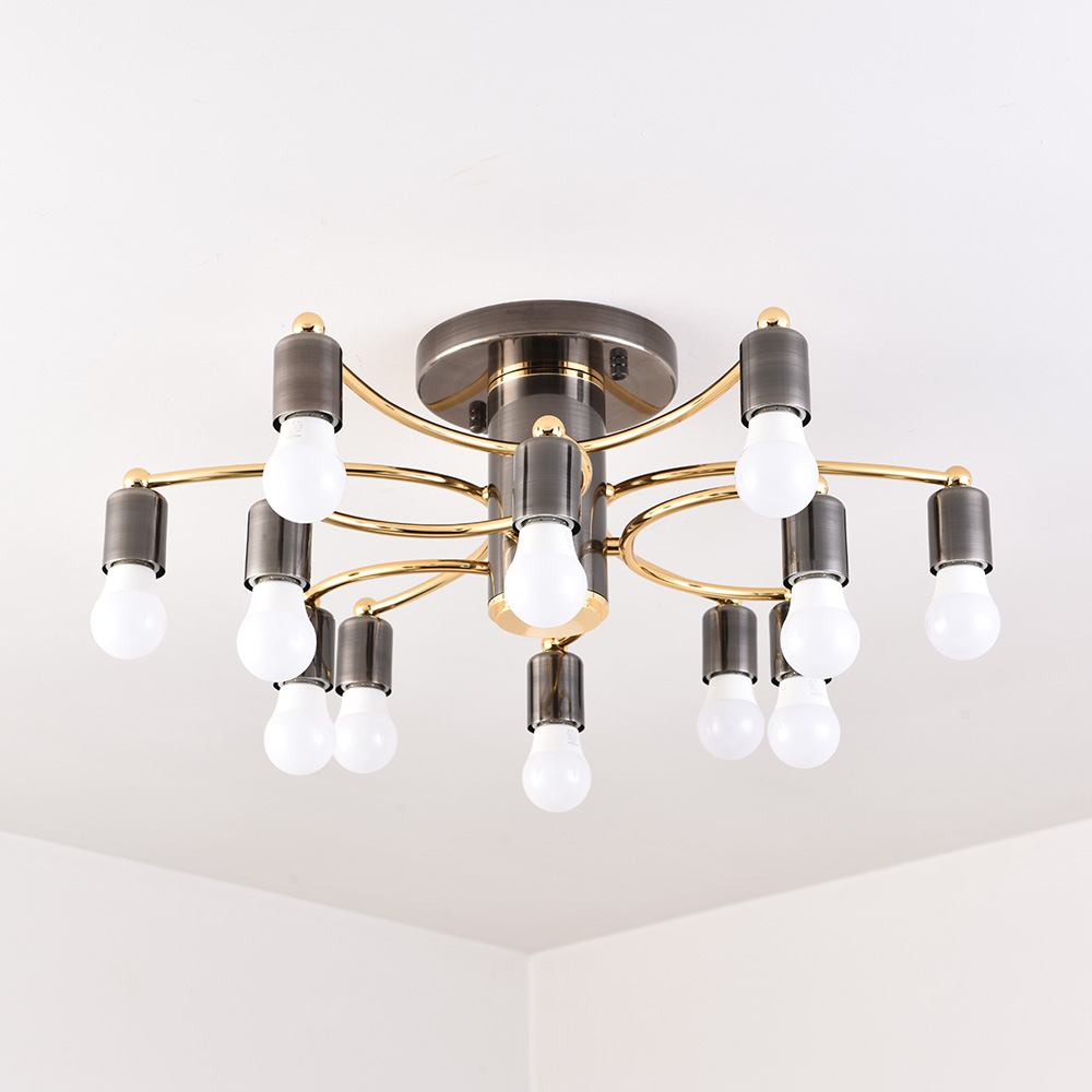Nouveau style plafond moderne à LEDs lampes suspendues pour salon chambre multi-têtes E27 plafonniers luminaires AC85-260V