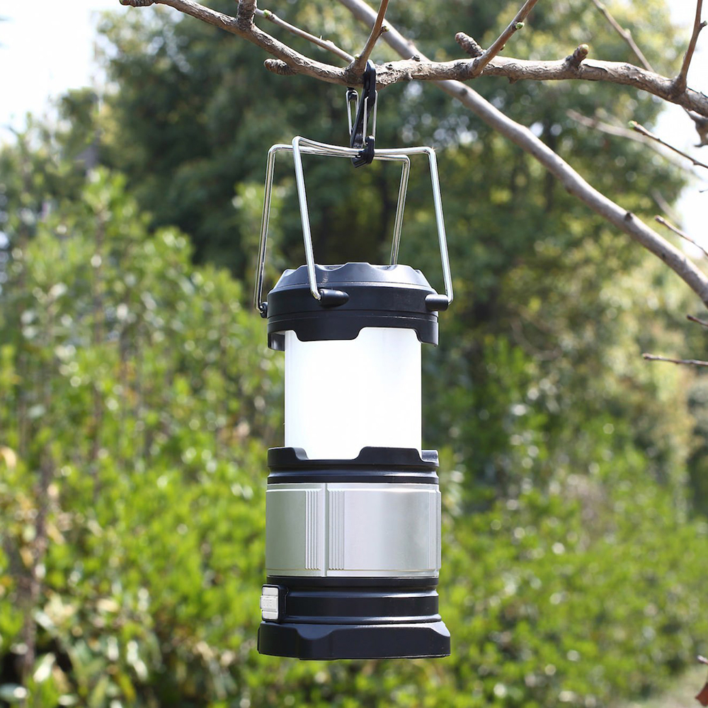 ФОТО 18650 Battery Portable Camping Lantern Work as 4400mAh Power Bank for Hiking Reading Emergencies, Rechargeable LED Lantern Light