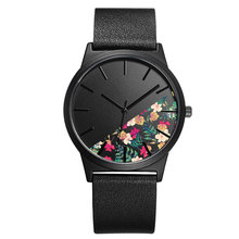 Здесь можно купить   BAOSAILI  Ladies Quartz Wrist Watch Flower Face Genuine Leather Strap For Women Quartz Wristwatches