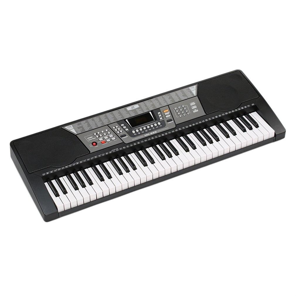 61 touches 110 V enfants électronique Piano électrique orgue clavier US Plug 100 Timbres/100 rythmes/8 Percussions cadeaux jouet éducatif