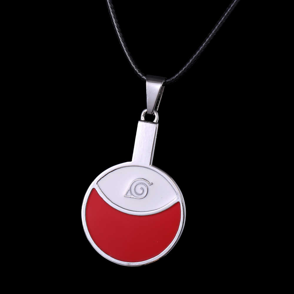 Foreign Trading Movie jewelry hot Anime NARUTO series shape table tennis bats Alloy necklace fashion jewelry red Cosplay pendant