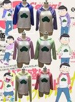 Anime Mr Osomatsusan Cosplay Costumes Coat Hoodies Osomatsu San 2 Embroidery Sweatshirts Sweater