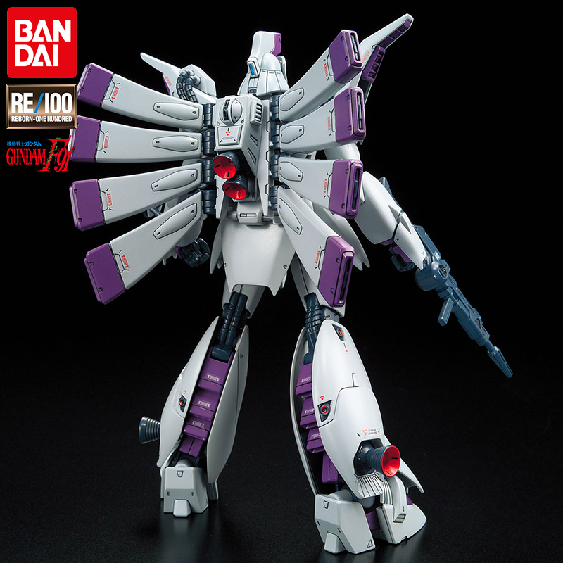 Japan Anime Bandai Mobile Suit RE 1/100 #09 Vigna Ghina Gundam XM-07 F91 Gunpla Action Figure Collection Model Robot child toys 2