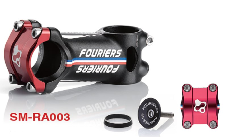 Fouriers SM RA003 aluminum alloy 6066 T6 6 degrees Cycling Bicycle Parts Stems 70mm 80mm 90mm