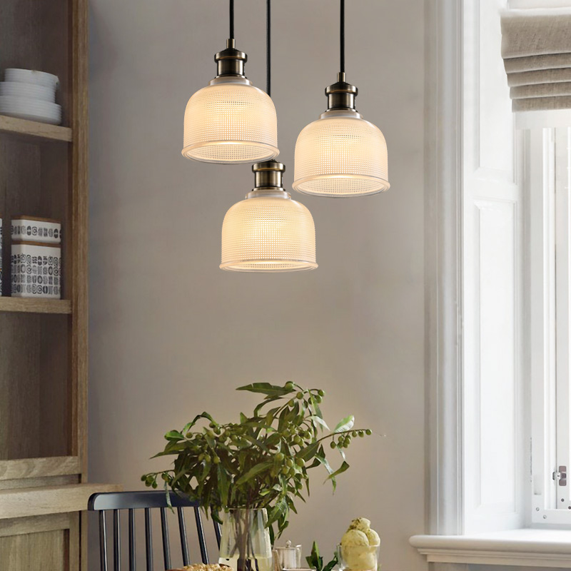 Country Style Led Pendant Light Fixture Home Lighting Iron Hanging Lamp For Living Room Bedroom Cafe Bar Hang Lights Lampara