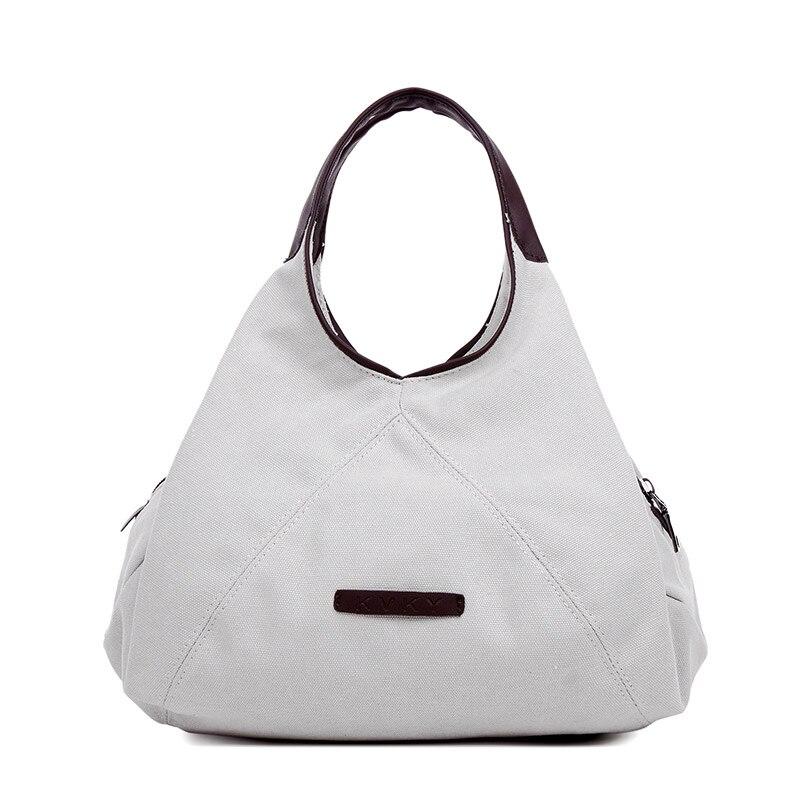84c6eae3ee69 KVKY Women Canvas Designer Handbags 4 Color Round Messenger Handle Bag  Fashion Ladies Shoulder Hobos Bag PU Leather Handstrap
