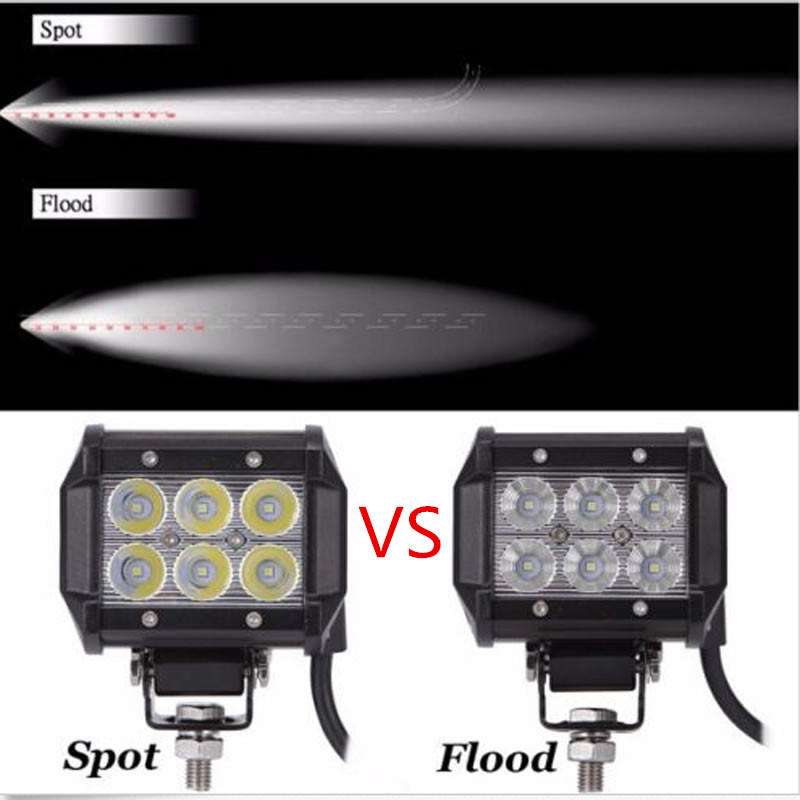 2X 18W Marine LED Sailboat Mast Light Bar (Spot BEAM) offroad Lamp BOAT free shipping 6804 2rs 6804 61804 2rs hybrid ceramic deep groove ball bearing 20x32x7mm