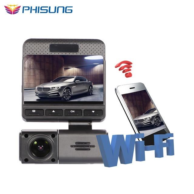 Phisung  car recorder WiFi wireless car camera dvr full hd 1080P dash cam Video Recorder Wireless WiFi APP portable recorder