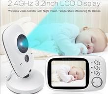 Nouvelle arrivée VB603 Bébé Moniteur 2 voies audio LCD sans fil bébé caméra bébé sommeil moniteur de Vision Nocturne Vidéo sans fil Bébé moniteur