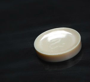 Acrylic snuff dishes/plate, small size as a piece of carrot