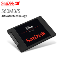 Sandisk ультра 3D Internal Solid State 250 ГБ 500 ГБ 1 ТБ 2 ТБ 560MBS жесткий диск SATA Revision 3,0 (6 ГБ/сек.) для ноутбука Desktop