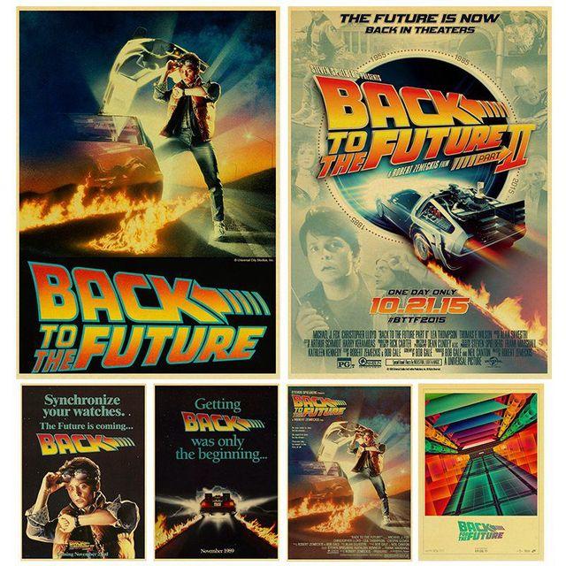 Sci fi Back to The Future Film Propaganda Retro Kraft