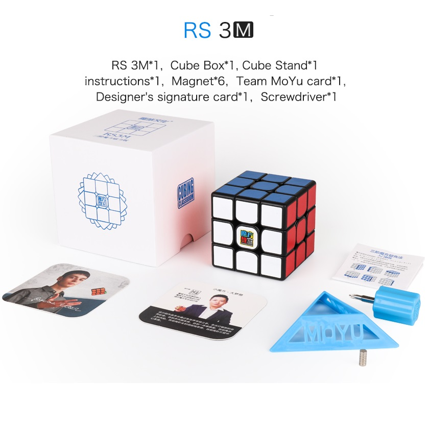 Moyu MF3RS3M 3x3x3 V3 MF3RS3 Magic Cube Puzzle Mofangjiaoshi 3x3 Magnetic Speed Cube Classroom Educational Toys For Children