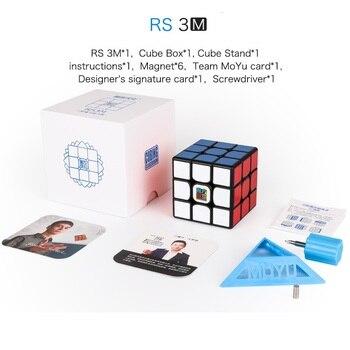 Moyu MF3RS3M 3x3x3 V3 MF3RS3 Magic Cube Puzzle Mofangjiaoshi 3x3 Magnetic Speed Cube Classroom Educational Toys For Children