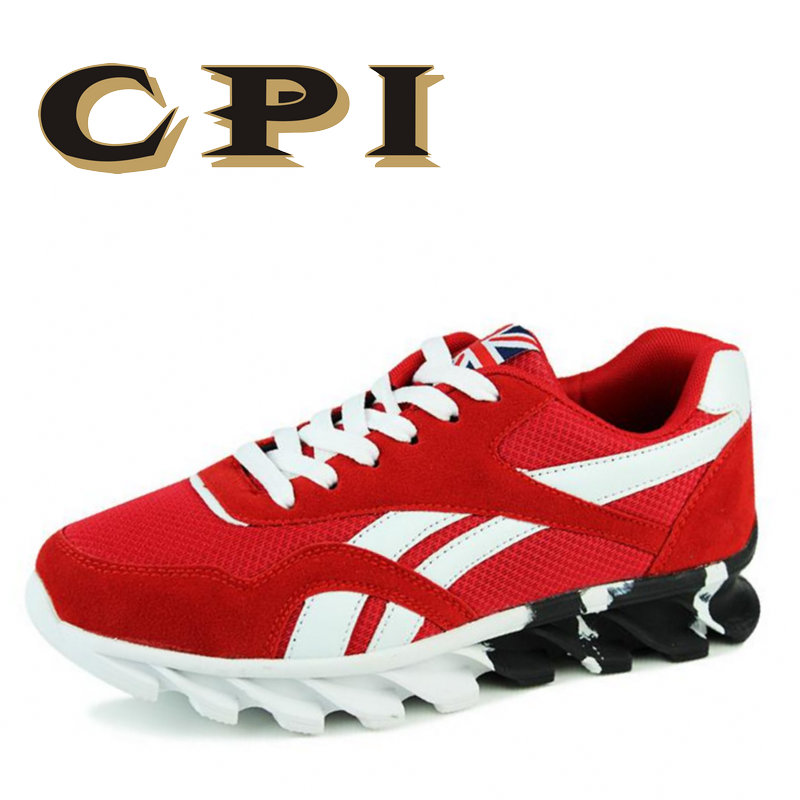 CPI 2018 Summer Male Lightweight Breathable Mesh shoes Men Casual sneakers Shoes New Comfortable Black red Men Flat Shoes ZY-03 cpi men casual shoes lightweight breathable flats men shoes footwear zapatos hombre casual shoes men chaussure homme zy 12