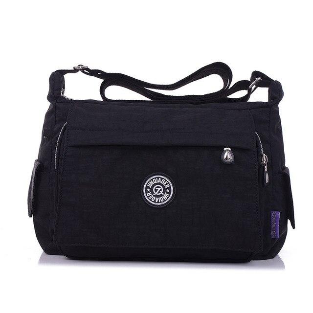 Waterproof Nylon Women Messenger Bags Leisure Fashion Fresh Female  Crossbody Bags Girls School Student Shoulder Bags 5b27f5a4efe37