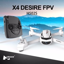 H502S X4 Hubsan FPV Drone dengan HD Kamera Video Langsung GPS Quadcopter Helikopter RTF RC Headless Real Time Video Berikut saya