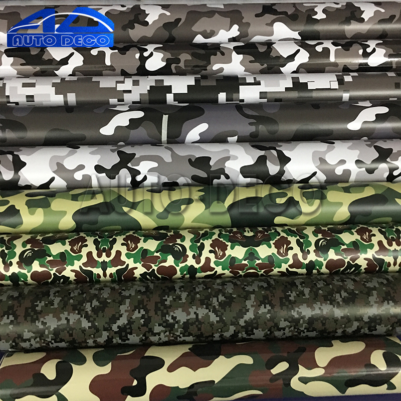 Over 10 Kinds Camo Vinyl Wrap Car Motorcycle Decal Mirror Phone Laptop DIY Styling Camouflage Sticker Film Sheet free shipping wholesale price 30m a lot high quality l amy green matte vinyl car wrap film car sticker with bubble free bw 9013