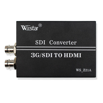 Wiistar SDI to HDMI Converter SD/HD/3G-SDI with SDI Loop Out BNC to HDMI Adapter 720P 1080P for HDTV Monitor Free Shipping