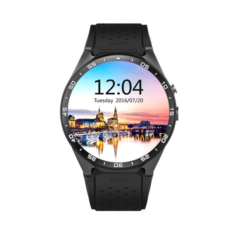 EDAL KW88 Smart Watch Android 5.1 OS MTK6580 CPU 1.39 Inch Screen 2.0MP Camera 3G WIFI GPS Smartwatch For Apple Android