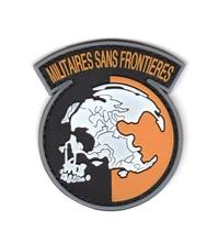 METAL GEAR SOLID MGS PEACE WALKER MILITAIRES FRONTIERES AZG AMERIKAANSE LEGER VS PATCH PVC BADGE(China)