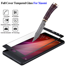 Explosion-proof Full Cover Tempered Glass For Xiaomi Note 4X 64GB Pro4 Global 4C4S 6 5C 5S plus MIX For Redmi 4 4A 4Pro note5A