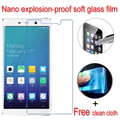 never broken Nano Explosion-proof Soft Glass Clear Screen Protector Protective Lcd Film For IUNI U3