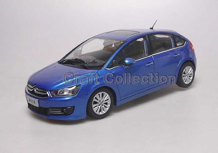 * 1/18 CITROEN C4 New Sega Hatchback Alloy Car Simulation Model Diecast Mini Vehicle
