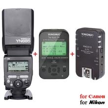 YONGNUO YN685 + ЖК-дисплей TX + RX комплект Speedlite с YN-622C Совместимость Радио трансивер построен внутри для Canon Nikon Зеркальные фотокамеры