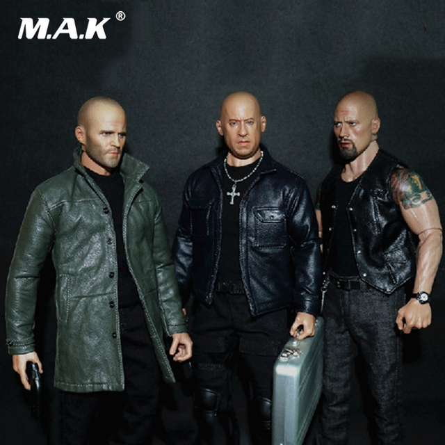 In Stock WK89014 1/6 Male Figure Accessory Johnson Jason Statham Head & Clothes Set Model Toys for 12'' Man Action Figure Body