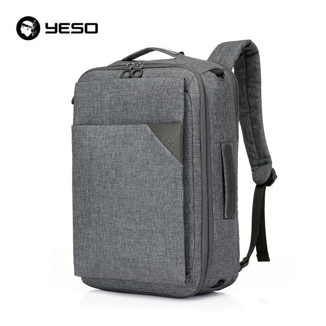 Multifuncional bolsa Para Laptop Mochila 14 15.6 polegada 3 Em 1 Negócios YESO Oxford Mochilas Viagem Ocasional Unisex Sacos de Ombro À Prova D' Água