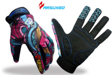ARSUXEO Cycling Bike Bicycle font b Gloves b font MTB Men Women Full Finger Motocross Riding