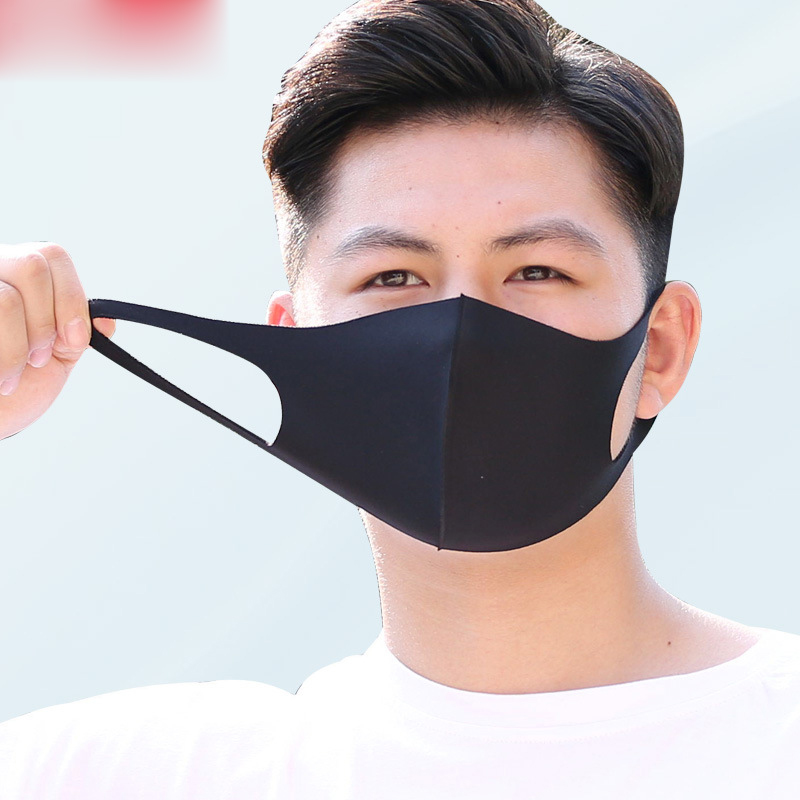 1PC Anti-Dust Earloop Mouth Face Mask Cover Outdoor Riding Masks Unisex K-pop Mask Soft Cotton Winter Breathing Mask