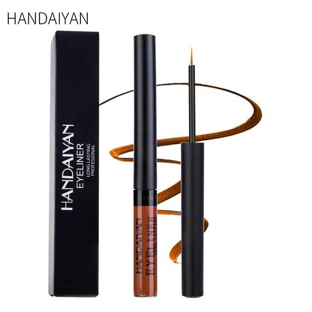 HANDAIYAN Matte Liquid Eyeliner Bright Color Waterproof Eye Liner Pencil Long-Lasting White Eye Liner Pen Eyes Makeup Cosmetics 4