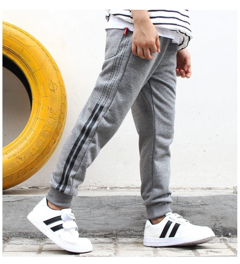 HTB1OuIOJhTpK1RjSZFKq6y2wXXa7 - Sport Boys Pants Cotton Teenage School Loose Trousers Casual Kids Autumn Outerwear Long Pant Children Clothes 5 8 10 12 14Y